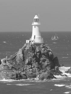 Jersey Lighthouse by Gavin Mountford, via 500px