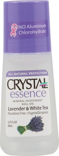 Crystal Roll On Deodorant Lavender and White Tea -- 2.25 fl oz - $3. i've heard this is amazing and is much safer than name brand deoderants
