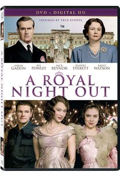 Inspired by true events, this charming romantic comedy recounts the glorious celebration of the end of World War II in Europe and the singular evening when Princess Elizabeth (Sarah Gadon) and Princess Margaret (Bel Powley) leave the confines of Buckingham Palace to join the festivities.