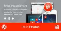 Fresh Favicon - WordPress Plugin - Price $20 - Rate 4.43 stars - Avg rate 4.43 average based on 21 ratings.          (more information)