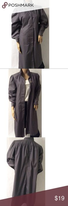 Grey Vintage Coat Size Small length 47 bust 36 . no tags attached Vintage Jackets & Coats Trench Coats