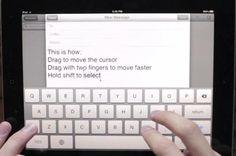 iPad keyboard prototype incorporates the use of gestures http://www.ubergizmo.com/2012/05/ipad-keyboard-prototype-incorporates-the-use-of-gestures/