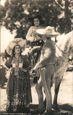 mexican culture Real Photo Postcard Family in Sombreros and Mexican Costume Mexico Mexican Rodeo, Mexican Style, Mexican Heritage, Hispanic Heritage, Mexican Costume, Mexican Revolution, Mexican Fashion, Mexico Culture, Mexican Dresses