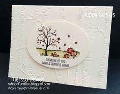 Stampin' Up! Happy Scenes, Woodland Embossing folder