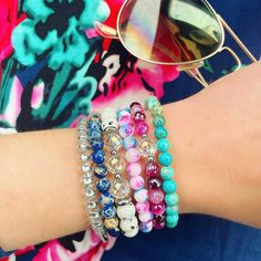 Coachella 2016, Angel Aura Quartz, Emotional Healing, Negative Emotions, Gemstone Bracelets, Heart Chakra, Crystals And Gemstones, Stretch Bracelets, Cotton Candy