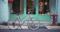 The Bisou collection of Tokyobike Singapore, SUCH BEAUTIFUL BIKES. It's going at S$975 though. D: