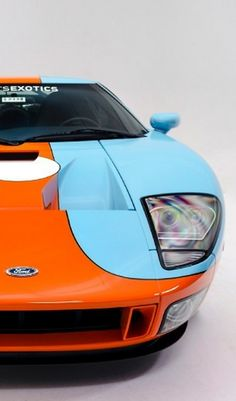 Unforgettable Ford GT Heritage edition #WildWednesday