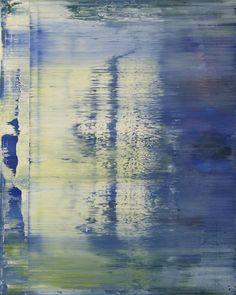 """Koen Lybaert; Oil 2013 Painting """"abstract N° 754"""""""