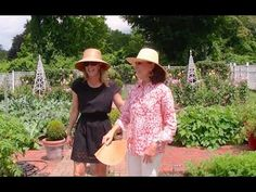 At Home in the Garden with Carolyne Roehm Video - Absolutely, positively wonderful