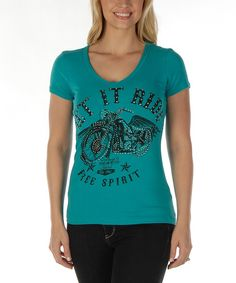 Look at this Liberty Wear Jade 'Free Spirit' Scoop Neck Tee - Women & Plus on #zulily today!