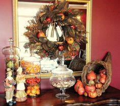 Thanksgiving Decorating and Display Ideas