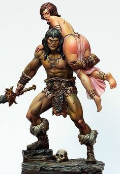 Kit Review – Barbarian and the Lost Princess (Black Sun Miniatures) | figurementors