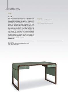 Desks | Armani/Casa