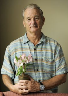 Bill Murray...I have always ♥ your handsomely sad and expressive face~