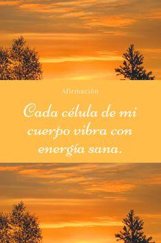 Afirmaciones. Positive Mind, Positive Attitude, Positive Thoughts, Yoga Mantras, Yoga Quotes, Wealth Affirmations, Positive Affirmations, Chakras, My Astrology