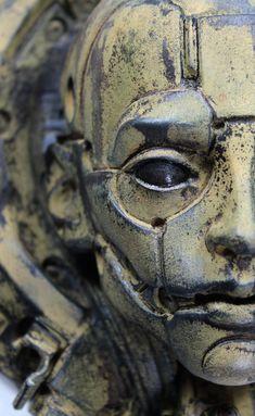 ArtStation - GALBEN KAL-IX, Tomàs Barceló Henri Matisse, Aesthetic Objects, Ceramic Mask, Portrait Wall, Tecno, Art Nouveau, Paint Schemes, Character Art, Character Portraits