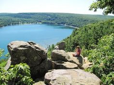 Devil's Lake, Wisconsin went here this past weekend...beautiful!