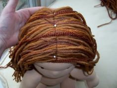 Ashtabeulah: Finishing your doll Section 3- Traditional Hair, 2nd and 3rd layers