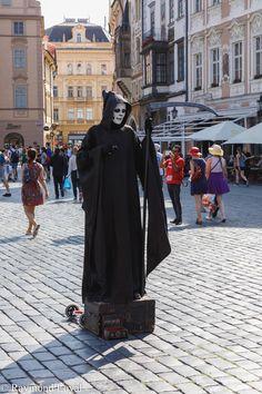 Tourist Entertainment // Prague // photographer: Raymond Loyal // // visit my website Charles Bridge, Czech Republic, Prague, Tourism, Louvre, Entertainment, Website, City, Travel