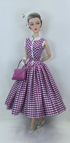 Barbie Outfits, Barbie Dress, Barbie Clothes, David Cassidy, Plaid Fashion, Barbie Collection, Barbie Friends, Black Girl Magic, Fashion 2020