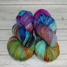 Mérinos 8 plis spongieux laine à chaussette par LogHouseCottage