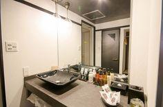 Room [421] HOTEL 41AV ANNEX Hotels 41av Group - 福岡市近郊 ラブホテル 41av グループ Double Vanity, Mirror, Bathroom, Home Decor, Washroom, Decoration Home, Room Decor, Mirrors, Full Bath