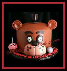Five Nights at Freddy's Theme Birthday Cake