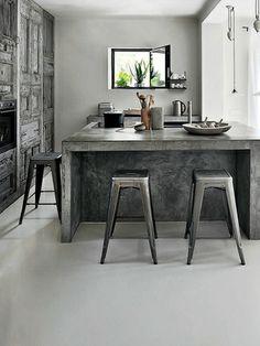 Cozinha Com Balc O Central Kitchen Pinterest