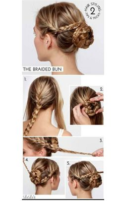 I am always looking for fast and creative ways to wear my hair. Lately I've had a braid obsession and this is so cute!!!!!! Can't wait to try