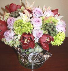 Our signature Vase Embellishments@beyondarrangement& A Black Tie Florist