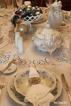 Johann Haviland China just like the set my grandmother passed down to me ....but I don't have those tiny butter/roll plates. Need to find those!!