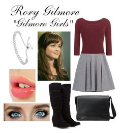 "Rory Gilmore ""Gilmore Girls"" by littlemissfabulous1 on Polyvore featuring Fall Winter Spring Summer, Gucci and Charlotte Tilbury"