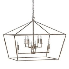 Amelia Chandelier  Contemporary, Industrial, MidCentury  Modern, Transitional, Metal, Chandelier by Gabby