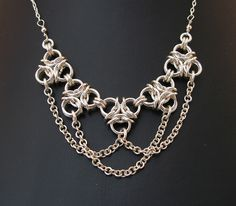 Aura in chains by Redcrow at Corvus Chainmaille, via Flickr.  Sara is my hero!