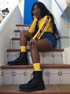 The Newton boot from the new #DMsLITE range, worn by Tkaymaidza.