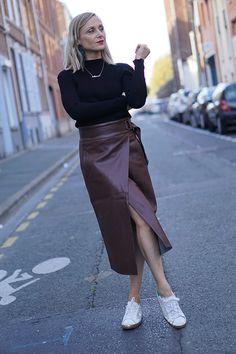 Waist Skirt, High Waisted Skirt, Fashion Blogs, Html, My Style, Skirts, Outfits, Trending Fashion, Fashion Ideas
