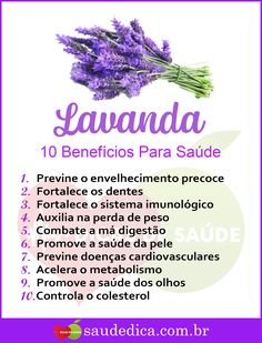 Pin by Graciele Aparecida on Bem estar! Health Remedies, Home Remedies, Atkins, How To Boost Your Immune System, Lavender Benefits, Homemade Cleaning Products, Aromatherapy Candles, To Loose, Natural Medicine
