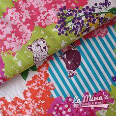 Wat is hij mooi! Deze nieuwe stof van la Mima's!
