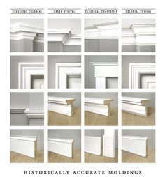 How to Install Easy Crown Molding & Ceiling Lighting Decorating Ideas - Modernit. How to Install Easy Crown Molding & Ceiling Lighting Decorating Ideas - Modernity Decor Baseboard Styles, Baseboard Trim, Baseboard Heaters, Baseboard Ideas, White Baseboards, Modern Baseboards, Wainscoting Ideas, Home Renovation, Home Remodeling
