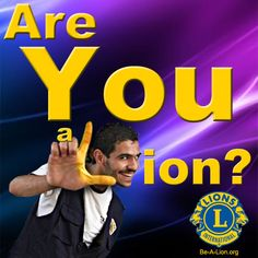 Lions members can use this image for Lions promotional and marketing materials. be-a-lion.org Lion Icon, Lions Clubs International, North Augusta, Lion Images, Lion Poster, Marketing Materials, The Darkest, Promotion, This Is Us
