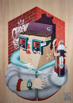 Chromeboys by Q B R K ◊ L O W B R O S, via Flickr