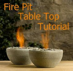 Fire Pit Table Top | Fire Pit Table Top DIY | This quick and easy project will enhance your time outdoors with a portable and versatile fire pit table top.