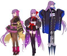 """hakusai on Twitter: """"BBちゃんたち~… """" Fate Zero, Fate Stay Night, One Punch Anime, Shirou Emiya, Miyamoto Musashi, Fate Servants, Matou, Fate Anime Series, Best Waifu"""