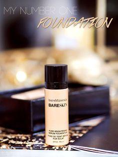 Nettenestea foundation bareminerals bareskin mineral serum foundation Annette haga sminke tips favoritt blogg mote skjønnet