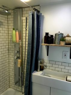 Shower in Tiny Home