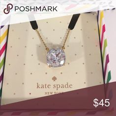 Kate Spade Necklace Beautiful shiny/sparkling kate spade Jewelry Necklaces