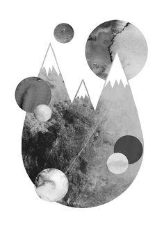 A3-trykk - digital collage