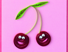 paper quilling tutorials | Make a quilled card - it's easy!