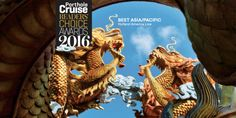 Holland America Line received top honors from Porthole for its Asia/Pacific itineraries. In 2017 ms Volendam spends the season sailing 13- to 15-day cruises between the gateways of Yokohama, Japan, or Singapore, Shanghai and Hong Kong, China. In October 2017, ms Amsterdam sails an epic 80-day Grand Asia & Pacific Voyage roundtrip from San Diego, California, that calls at 29 ports and features six overnights.