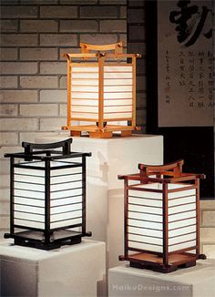 The rice paper Teahouse Lamp casts a wonderful soft light in any room. The lamps reflect classical culture in a pagoda style design. The lamp is modeled from lamps used in ancient teahouses.